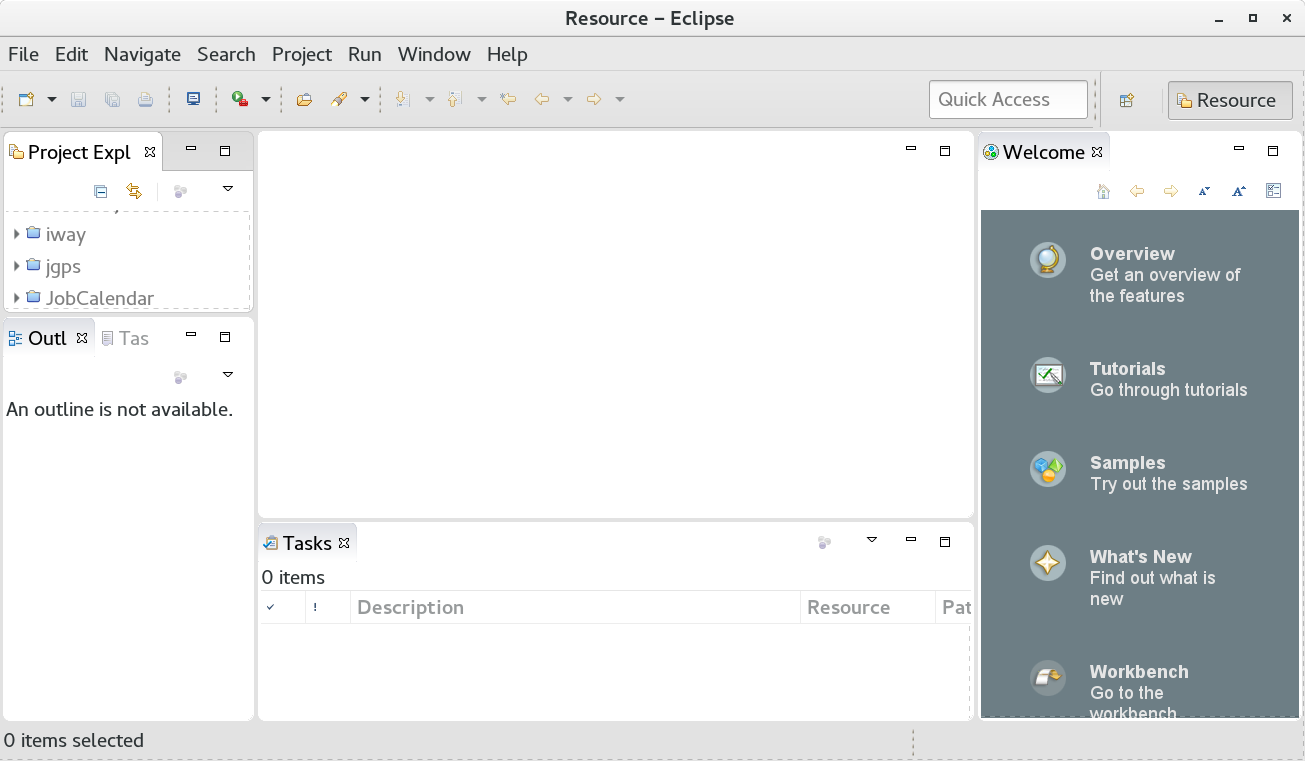 eclipse IDE just installed
