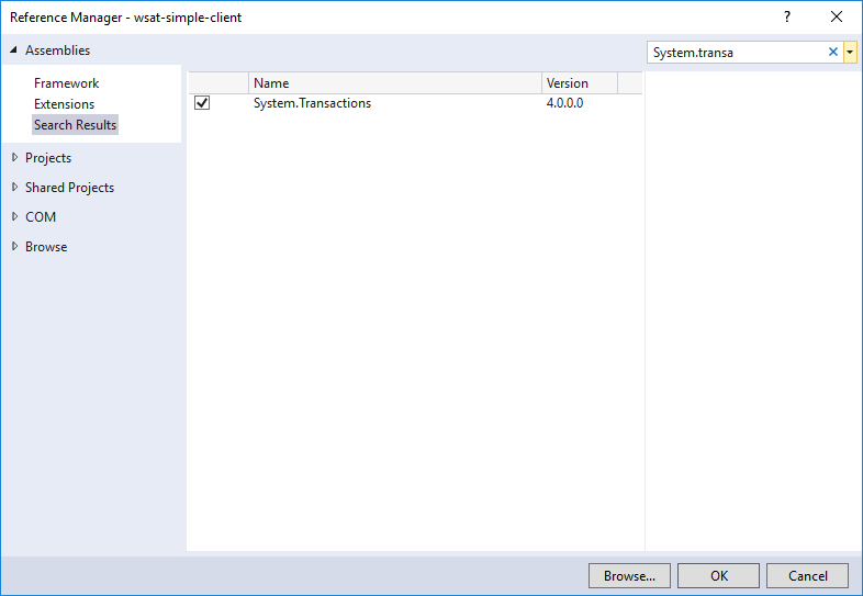 Add system transactions reference